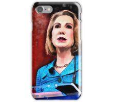 Carly Fiorina iPhone Case/Skin