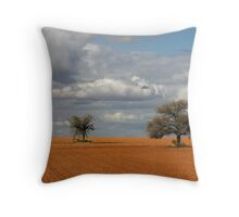 Landscape with Trees Throw Pillow