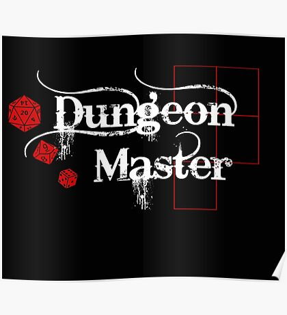 Dungeon Master Poster