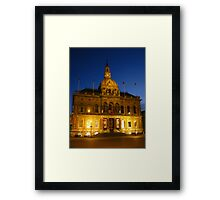 Town Hall, Cornhill, Ipswich, Suffolk Framed Print