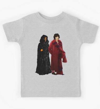 Doctor Who - Fourth Doctor and The Master Kids Tee