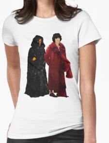 Doctor Who - Fourth Doctor and The Master Womens Fitted T-Shirt