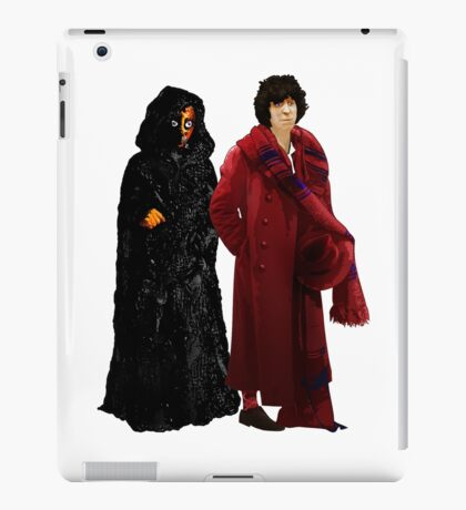 Doctor Who - Fourth Doctor and The Master iPad Case/Skin