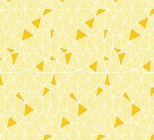 yellow fragment pattern by torzhinskiy