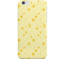 yellow fragment pattern iPhone Case/Skin