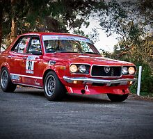 Sean Bennett SS10 Hindmarsh Teirs asp Adelaide Tarmac Rally 2010 by Clintpix