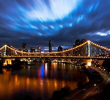 The Story Bridge - Evening by Daniel Peut