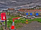 Craster Village by Ryan Davison Crisp