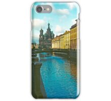 Cathedral of Christ the Saviour on the Spilled Blood, St Petersburg, Russia iPhone Case/Skin
