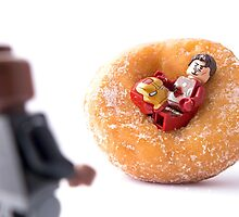 Sir, I'm going to have to ask you to exit the donut! by Tom Milton