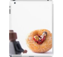Sir, I'm going to have to ask you to exit the donut! iPad Case/Skin