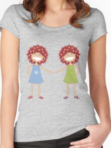 Twin sisters Women's Fitted Scoop T-Shirt