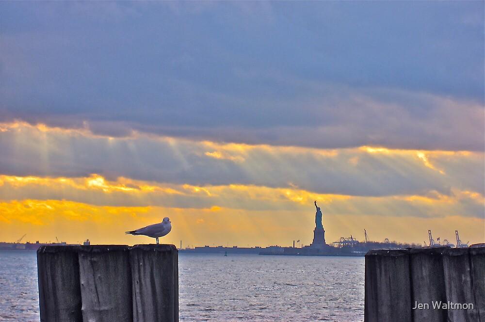 Stillness in Battery Park by Jen Waltmon