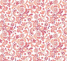 Abstract watercolor pattern 2 by Gribanessa