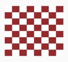 Classic Red White Check Pattern Duvet Phone Cover Kids Clothes