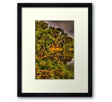 And His Ghost May Be heard #2 - Wonga Wetlands, Albury - The HDR Experience Framed Print