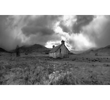 Athnamulloch bothy Photographic Print
