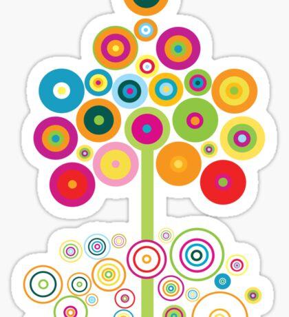 colors tree Sticker
