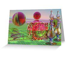 The female surrealistic world Greeting Card