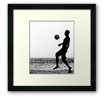 Kick Framed Print