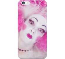 lady in pink iPhone Case/Skin