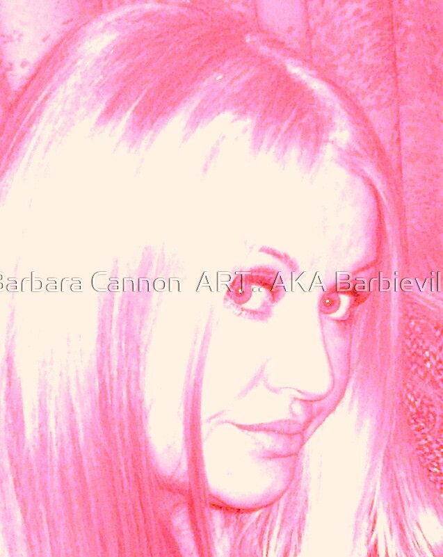 Blush Barbie by Barbara Cannon  ART.. AKA Barbieville