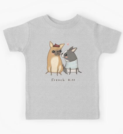 French Kiss Kids Tee