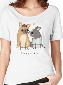 French Kiss Women's Relaxed Fit T-Shirt