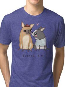 French Kiss Tri-blend T-Shirt