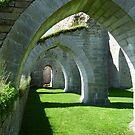 Alvastra Cisterciensian Monastery in Sweden by HELUA