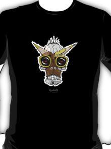 Horned Goggle Skull T-Shirt
