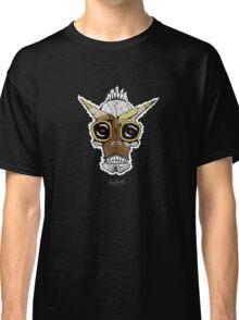 Horned Goggle Skull Classic T-Shirt