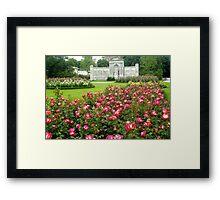 Rosengarten - Vienna - Austria Framed Print