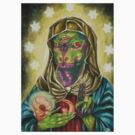 Blessed Reptilian Virgin and Child by HiddenStash