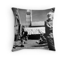 democracy village (6x6) Throw Pillow