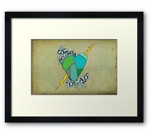 We Belong Dead Framed Print