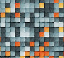 PAPER PIXEL / wednesday by Daniel Coulmann