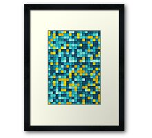 PAPER PIXEL / tuesday Framed Print