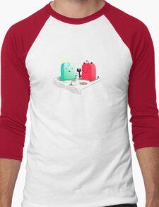 Lets be friends Men's Baseball ¾ T-Shirt