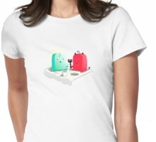 Lets be friends Womens Fitted T-Shirt