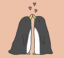 Lovely Love Penguins by Sophie Corrigan