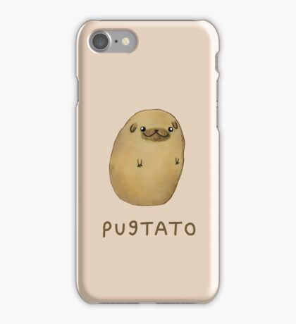 Pugtato iPhone Case/Skin