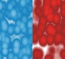 """Color Bubble"" Pattern by xorbah"