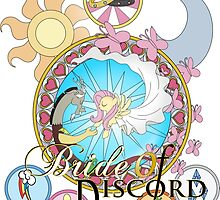 Bride of Discord Titled Stained Glass by Nstone53