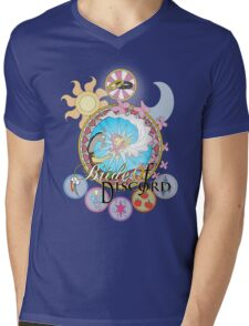 Bride of Discord Titled Stained Glass Mens V-Neck T-Shirt