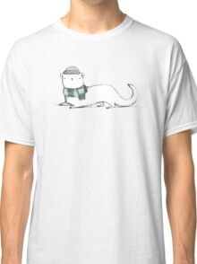 Ermine in Hat & Scarf Classic T-Shirt