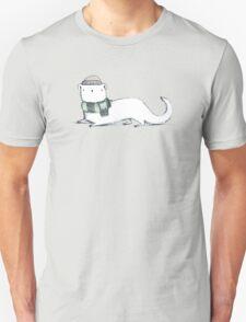Ermine in Hat & Scarf Unisex T-Shirt