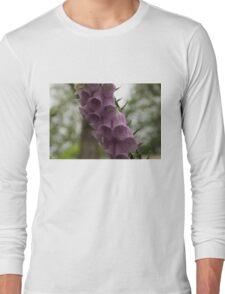 Foxglove Tears - A Rainy Garden in London Long Sleeve T-Shirt