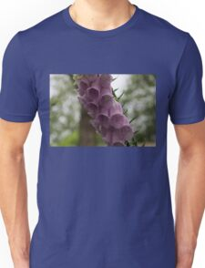 Foxglove Tears - A Rainy Garden in London Unisex T-Shirt
