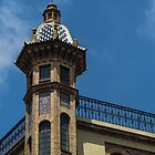 Church tower, Seville by Mortimer123